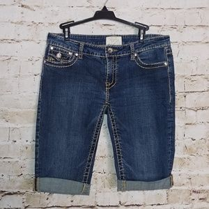 {LA Idol} jean shorts
